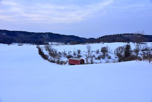 bridgemeechcreek quebec coveredbridge winter