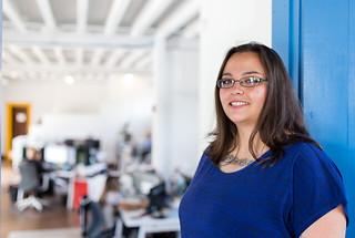 Ashley Gutierrez, a customer service devotee at Wildflower.