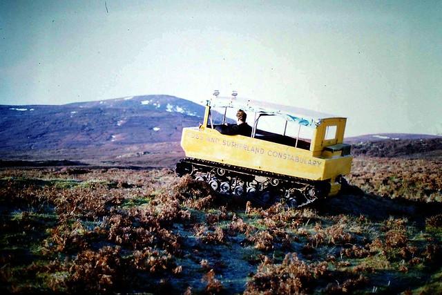 1970 Ross + Sutherland Constabulary Weasel tracked ATV