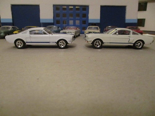 Comparison: 1965 and '66 Shelby GT 350 by IXO | by IFHP97