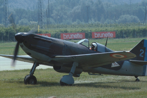Dewoitine D.520 at the 1986 Sion Air Show