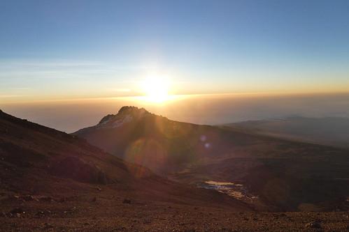tanzania kilimanjaro mountain mount landscape snow