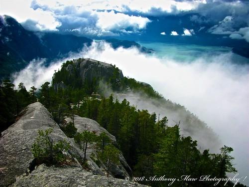 bc clouds mist squamish