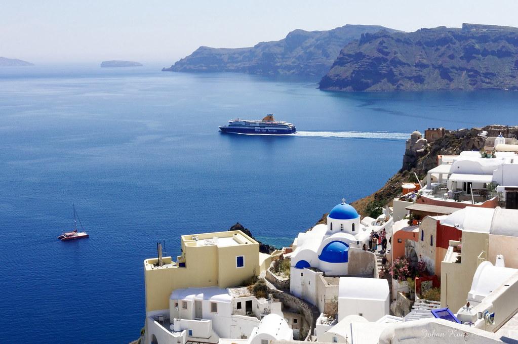 Graeske Oer Kort Santorini Kort Af Graeske Oer Som Santorini Det
