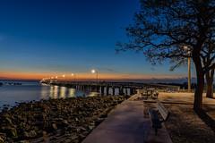Ballast Point Fishing Pier Twilight