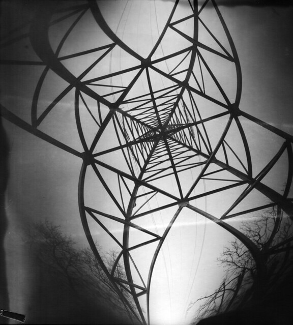High voltage pinhole