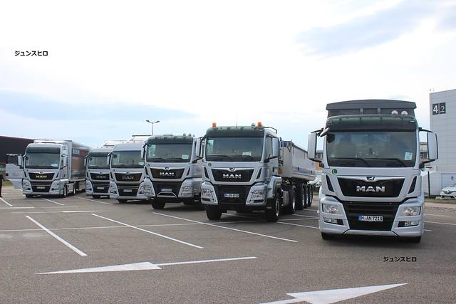 Team Man trucks 2017