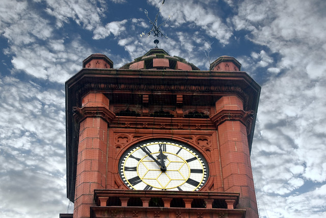 Farley Clock Tower, West Bromwich.