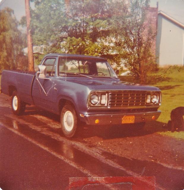 MY 1977 DODGE PICKUP TRUCK IN JULY 1980