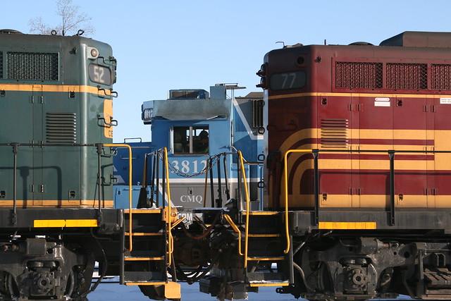 3 Railroads, one photo.