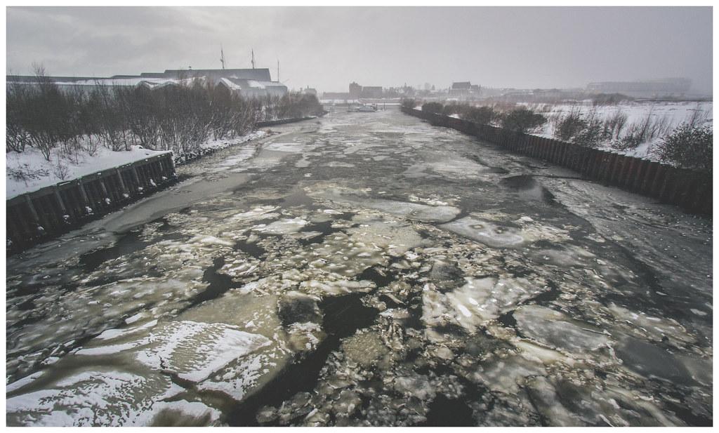 Frozen River Clyde, Glasgow-3