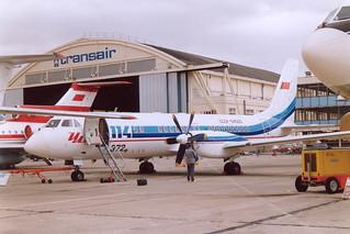CCCP-54000 IL-114 @ LBG 15 juni 1991
