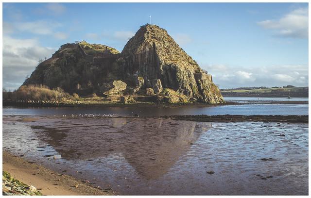 Dumbarton Rock & Reflection, Dumbarton