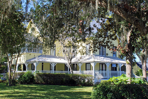 architecture house historical victorian trees belleview florida