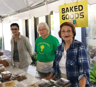 Nina, Sylvia & Irene at Yard Sale | by Holy Spirit Orthodox Church