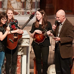 Tue, 20/02/2018 - 1:20pm - The trio of Sara Watkins, Sarah Jarosz and Aoife O'Donovan play for WFUV listeners at the Fordham University Church in NYC, 2/20/18. Hosted by John Platt. Photo by Gus Philippas/WFUV
