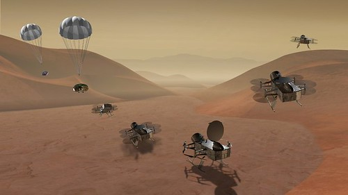 Finalists in NASA's Spacecraft Sweepstakes: A Drone on Titan, and a Comet-Chaser - The New York Times