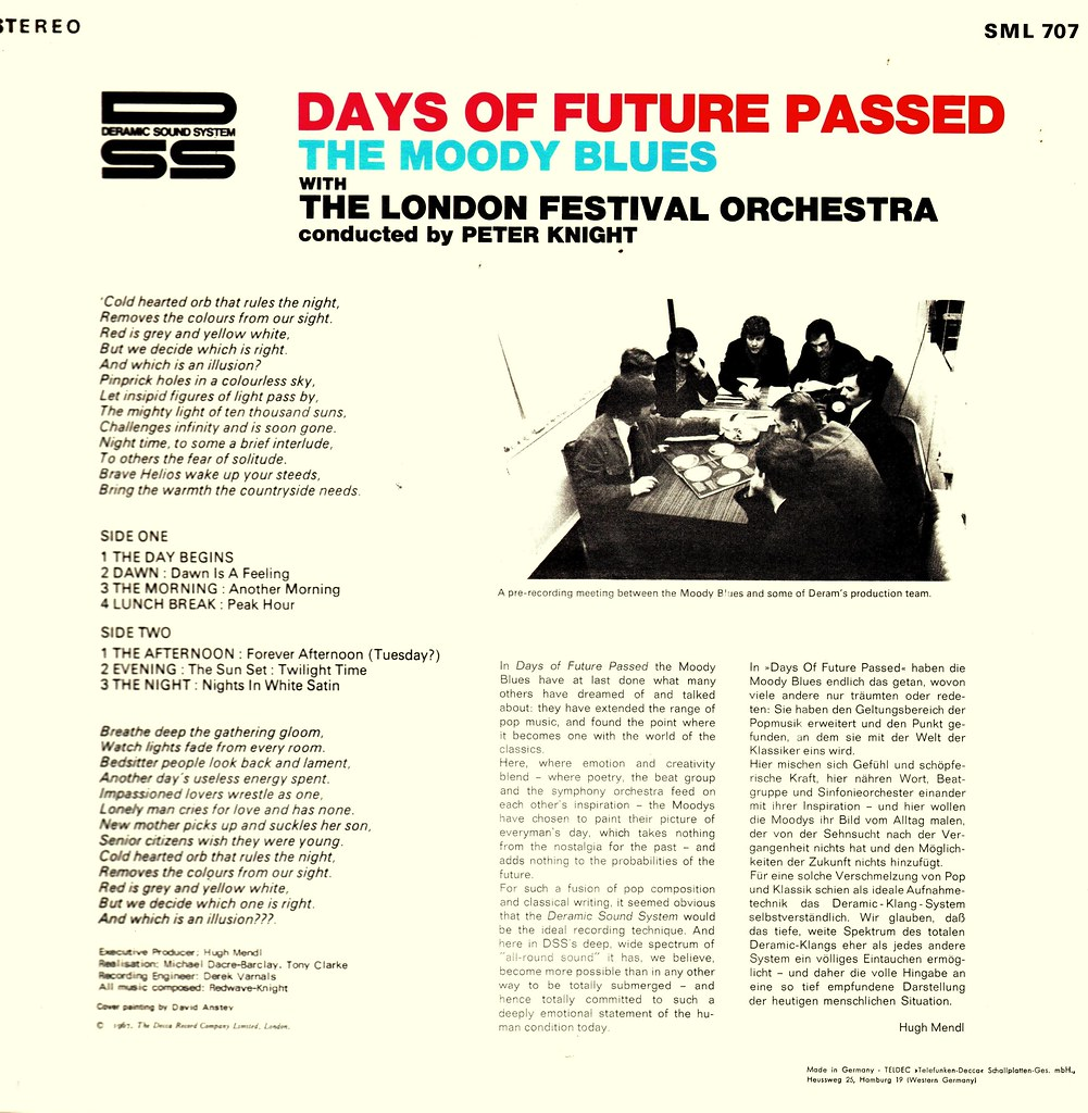 6 - Moody Blues, The - Days Of Future Passed - D - 1967- | Flickr