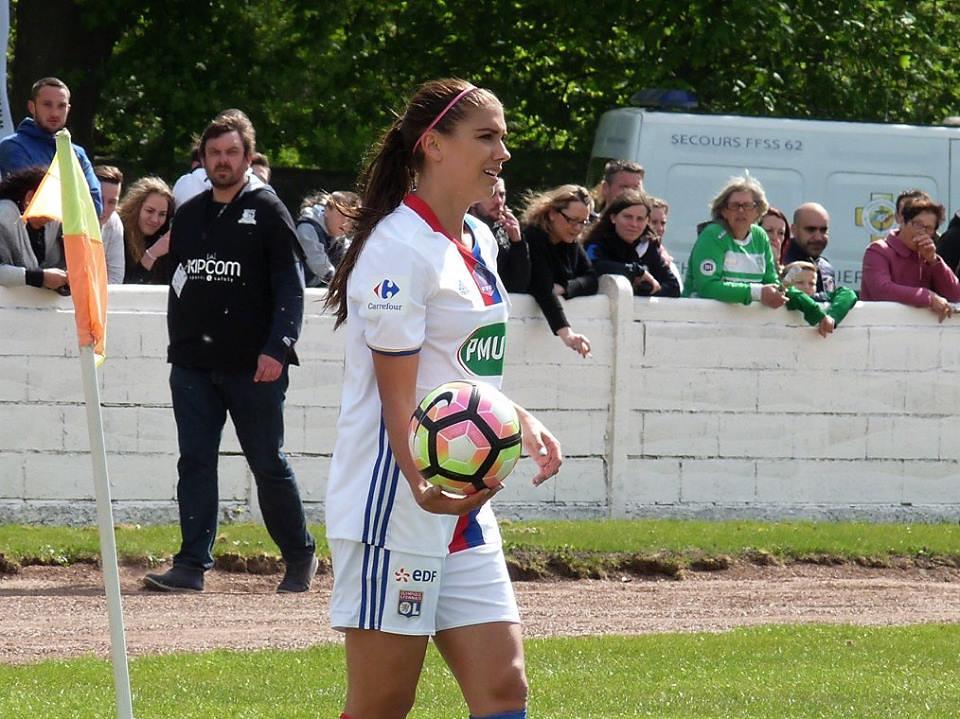 Alex Morgan, Coupe de France à Hénin-Beaumont