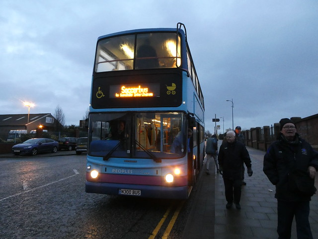 Peoplesbus N300BUS Return to Sandhills