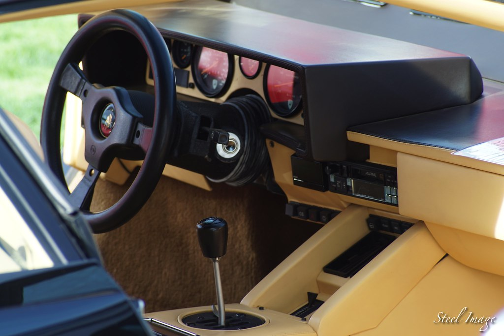 Lamborghini Countach | Gated Shifter | Steel Image | Flickr
