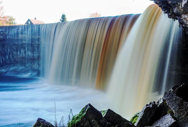 Jägala waterfall, Estonia