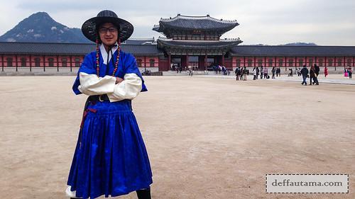 5 hari di Seoul - Kostum Prajurit   by deffa_utama