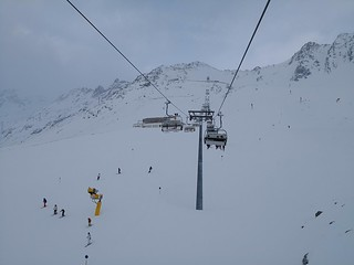 Einzeiger chairlift | by A. Wee