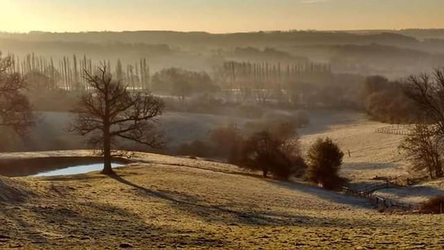 Frosty Kent morning