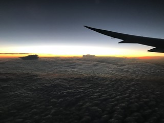 Sunrise on our way to Auckland | by Zack A.
