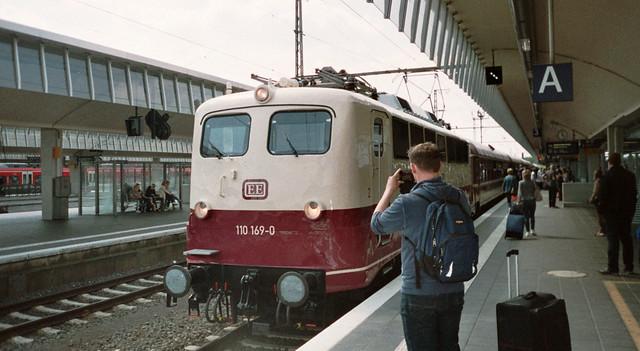 Train Spotter - I shot film