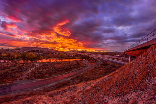 richland washington sunset cityscape skyscape pasco kennewick yakima river