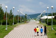 Magas / Магас (Ingushetia) - Empty Boulevard