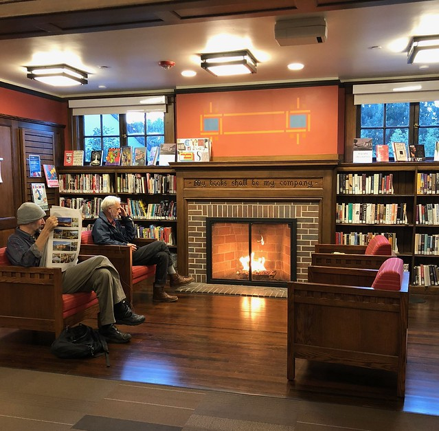 Cozy At the Public Library