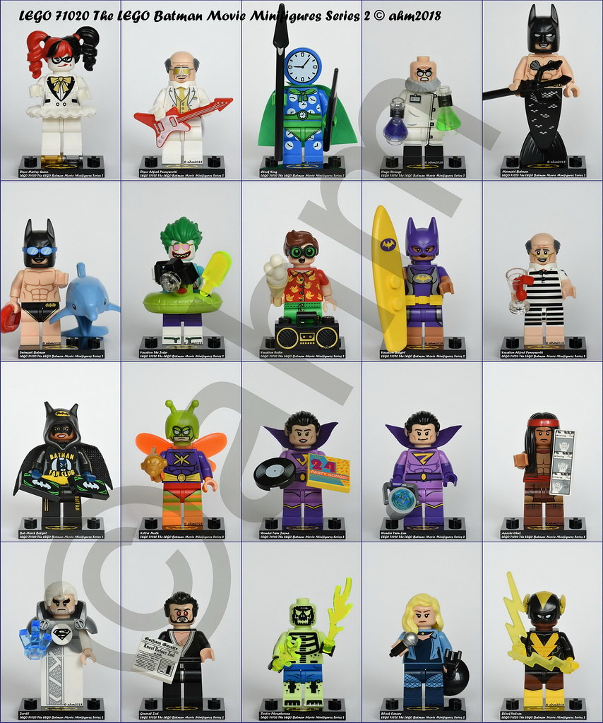 LEGO NEW The LEGO Batman Movie Series 2 Minifig Black Canary 71020