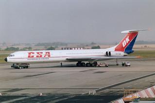 OK-KBK IL-62 @ Praha 15-09-1991