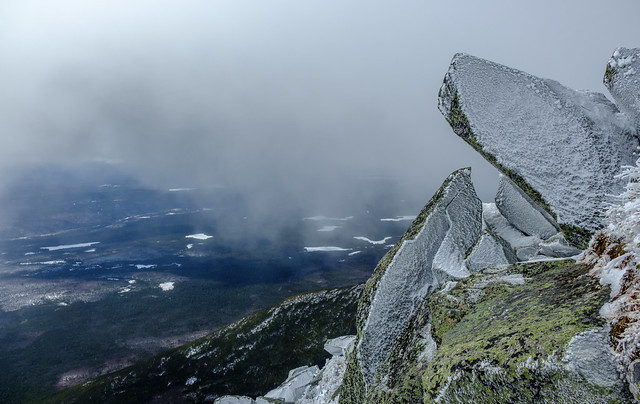 A view from the Abol Trail, Mount Katahdin, Maine