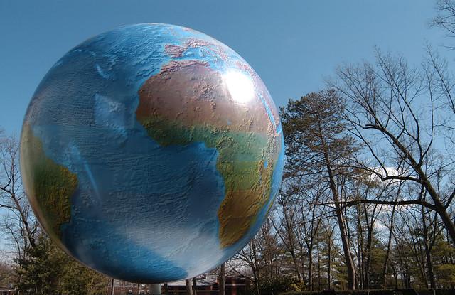 Babson Globe and Centennial Park