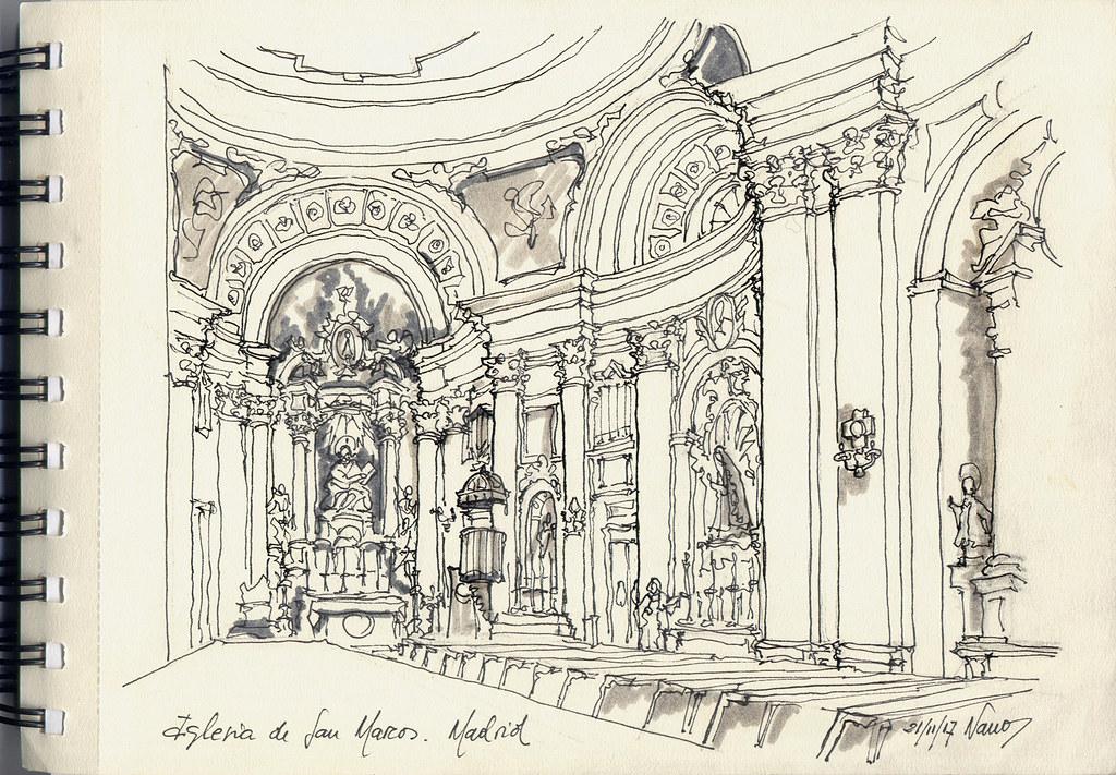En La Iglesia De San Marcos De Madrid Feliciano Gomez Flickr