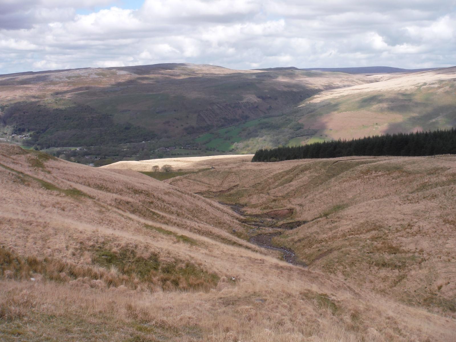 Glyntawe and Cwm Haffes SWC Walk 307 - Fforest Fawr Traverse (Craig y Nos to Llwyn-y-celyn)