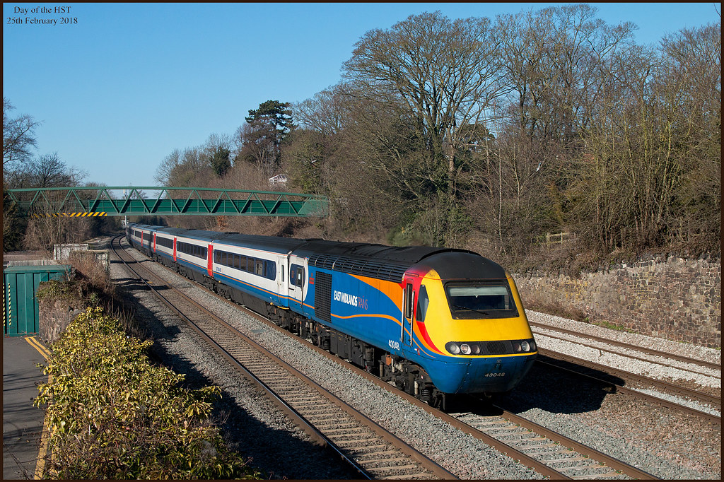 The Day of the HST - 2 | 43048 'TCB Miller M B E'