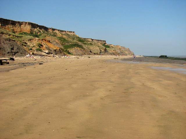 The coast at Walton-on-the-Naze