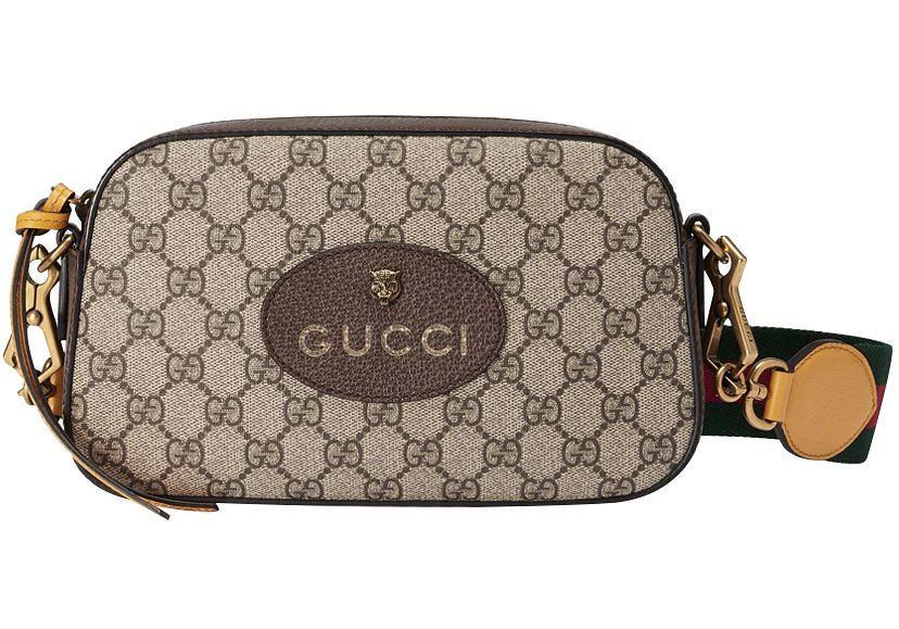 3126653cac08 ... Gucci GG Supreme messenger bag 476466 Dark Coffee, W24XH15XD7(cm