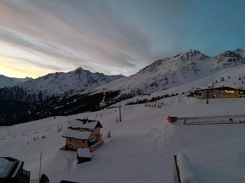 瑟尔登 sölden austria 奥地利 hochsölden skihotel hotel 酒店 edelweiss sunrise 日出