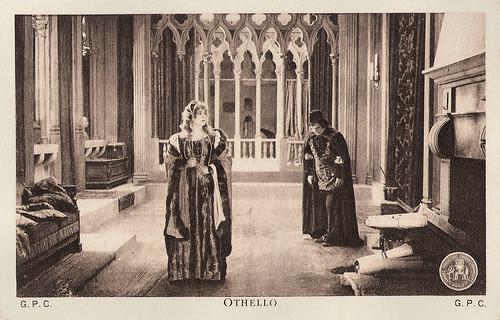 Ica von Lenkeffy and Theodor Loos in Othello (1922)