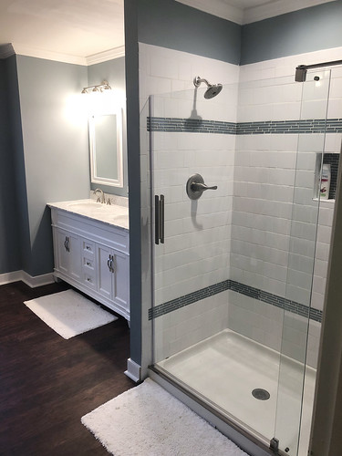 Vanity & Shower | by CanaleContractingLLC