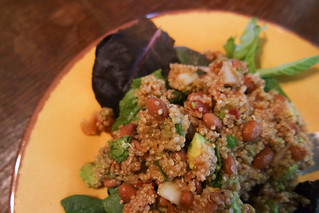 Quinoa-Avocado Salad with Pinto Beans and Salsa | by rachelakelso