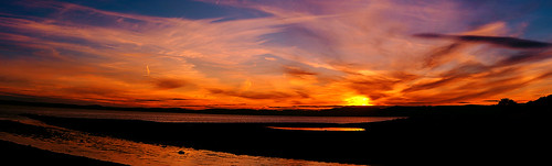 blue sunset sky orange nature water beauty silhouette night clouds photography scotland riverclyde amber colours purple sundown stitch outdoor mother scenic vivid panoramic incredible largs sunsetsandsilhouettes pentaxkr imagesfromscotland