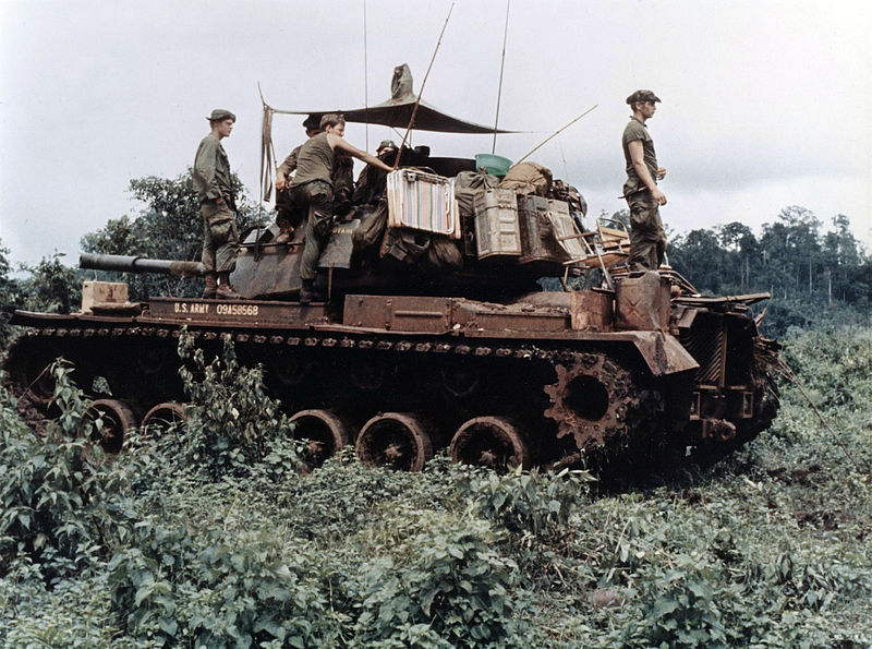 Vietnam War, M48 Patton