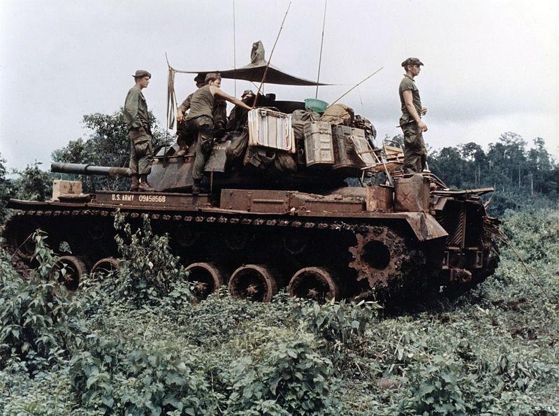 Πόλεμος του Βιετνάμ, Μ48 Patton